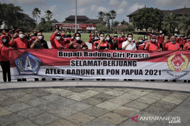 PON Papua - Badung lepas 86 atlet kontingen Bali ke Papua (video)