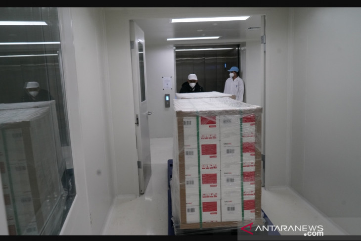 Indonesia dapat 225,4 juta dosis vaksin dalam 50 kali kedatangan