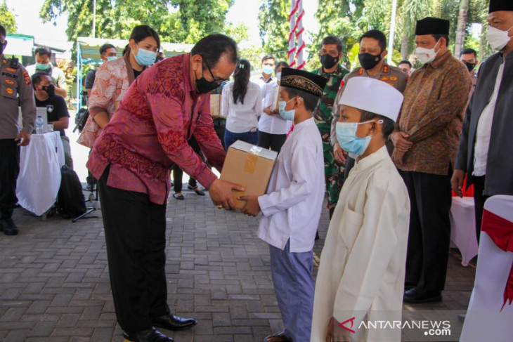 Bali kebut vaksinasi COVID-19 walaupun capaian sudah 107 persen