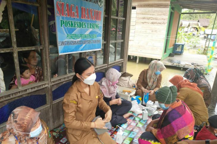 Dinas Kesehatan Tanah Bumbu cegah penyakit akibat banjir
