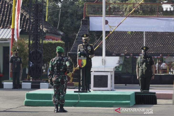 Pangdam Brawijaya kukuhkan 558 prajurit TNI AD berpangkat Prada