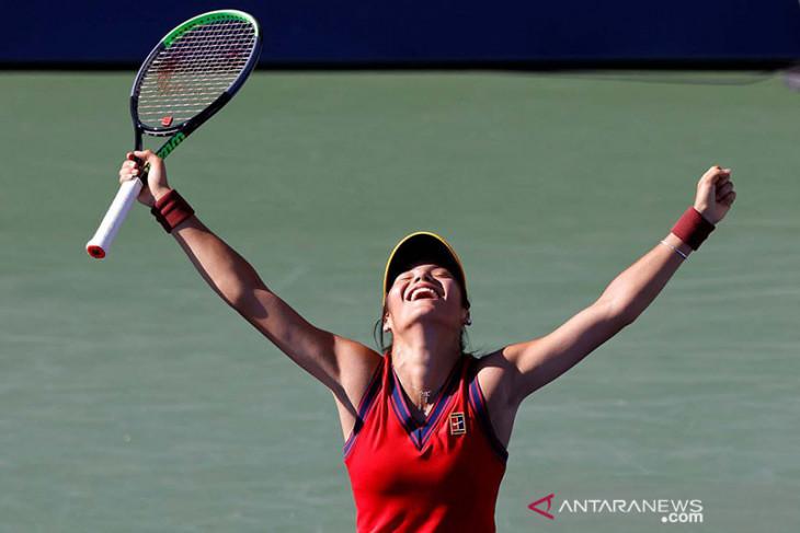 Emma Raducanu  juara US Open