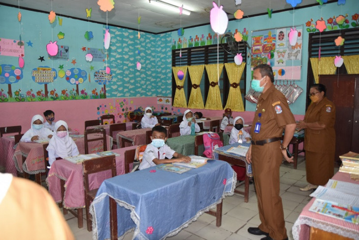 Dinas Pendidikan Deliserdang monitoring pelaksanaan  PTM di sekolah