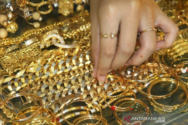 Harga perhiasan emas di Meulaboh turun menjadi Rp2,75 juta/mayam