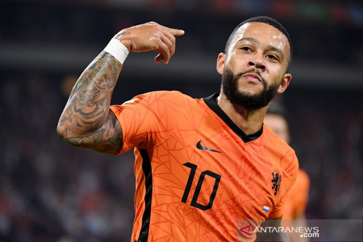 kualifikasi Piala Dunia 2022 - Trigol Depay dan Haaland warnai kemenangan Belanda serta Norwegia