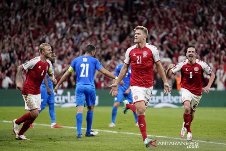 Denmark bombardir Israel 5-0 dan Skotlandia pecundangi Austria
