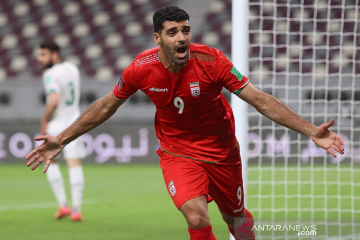 Iran lumat Irak 3-0