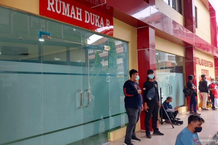 41 korban tewas kebakaran Lapas Tangerang dibawa ke RS Polri