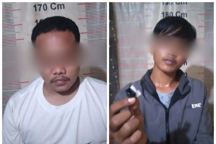 Polsek Tanjung Pura tangkap dua pemilik narkotika