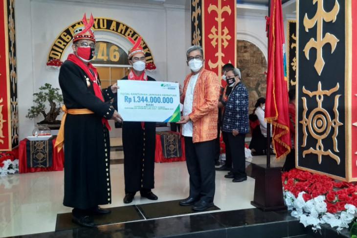 BPJAMSOSTEK  Maluku salurkan santunan jaminan kematian Rp134 miliar manfaatkan sebaiknya