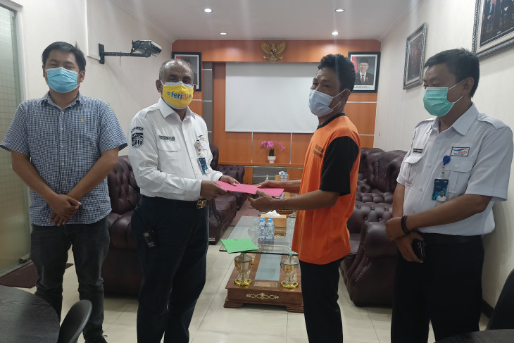 Perusahaan Santuni Korban Kecelakaan Kerja di Pelabuhan Merak