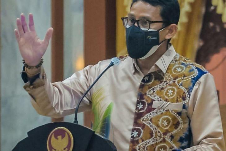 Jejak Menteri Sandiaga Uno melihat potensi wisata dan Ekraf di Kalsel
