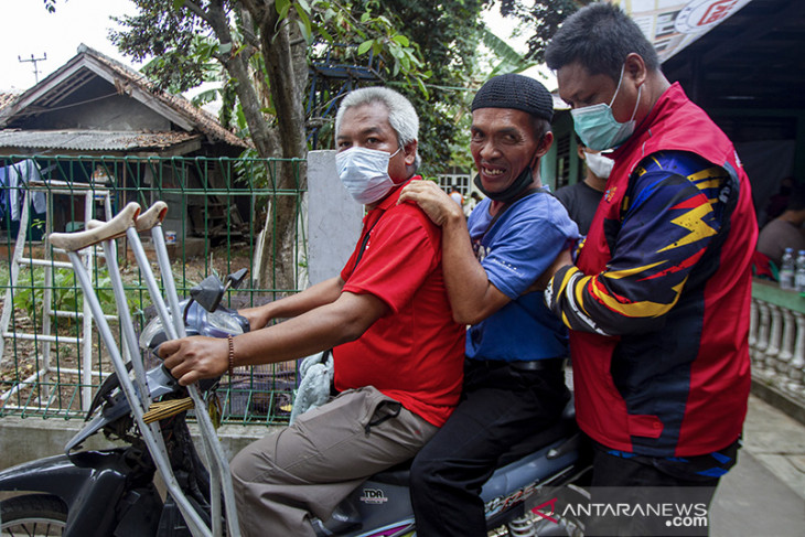 Target vaksinasi COVID-19 penyandang disabilitas di Jawa Barat