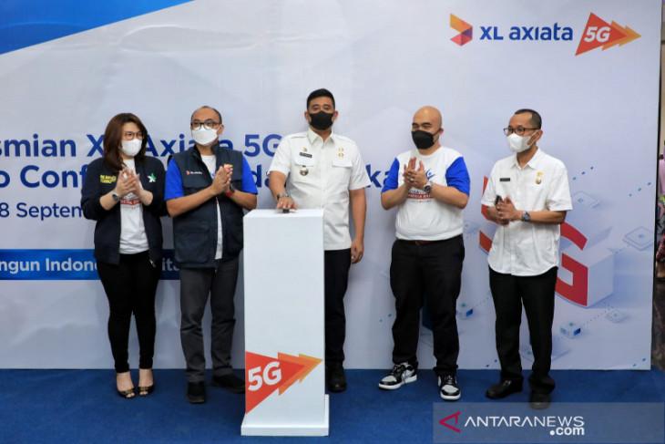 XL Axiata gelar sentra vaksinasi dan pengenalan jaringan 5G