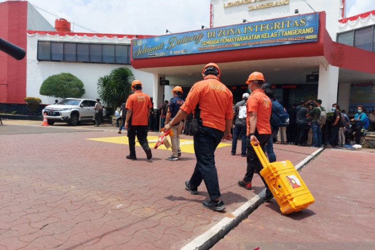 Ministry forms five teams to handle Tangerang prison fire case