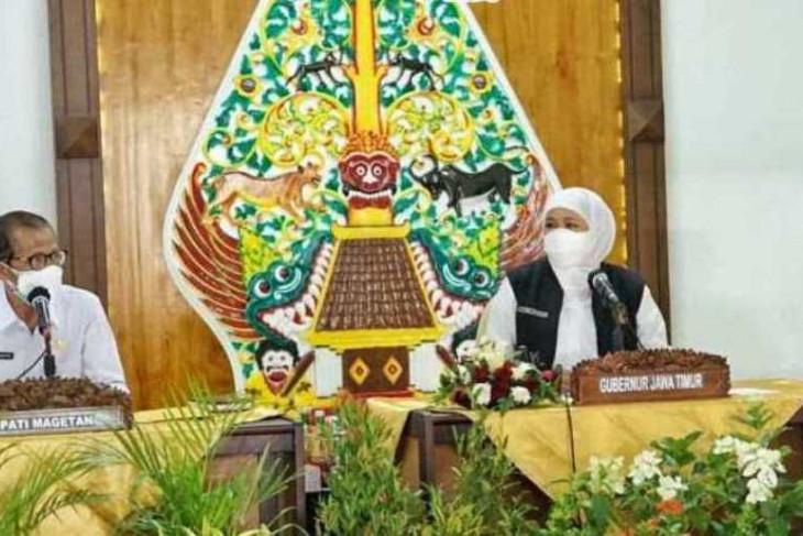 Gubernur Khofifah minta Magetan dan Ponorogo tingkatkan pelacakan