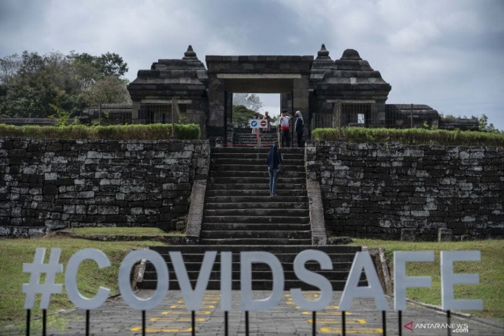 Borobudur reopening trial with PeduliLindungi going well: official