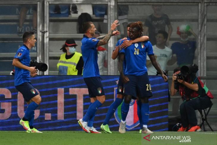 Timnas Italia ukir rekor baru tak terkalahkan di pertandingan resmi