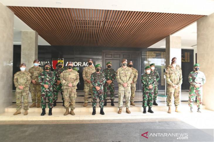 Pangdam Mayjen Suharyanto sambut kedatangan US Army
