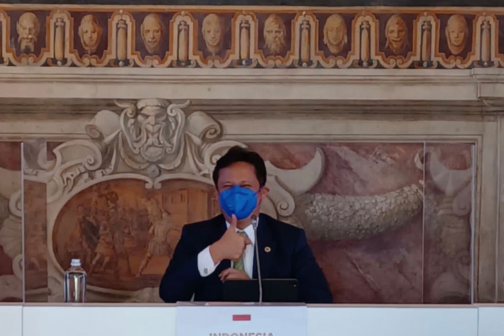 G20 - Indonesian minister presses for equality in global health system