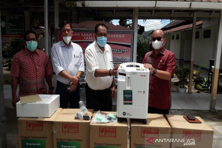 TPL serahkan oksigen konsentrator bantu RSUD Tarutung tangani COVID-19