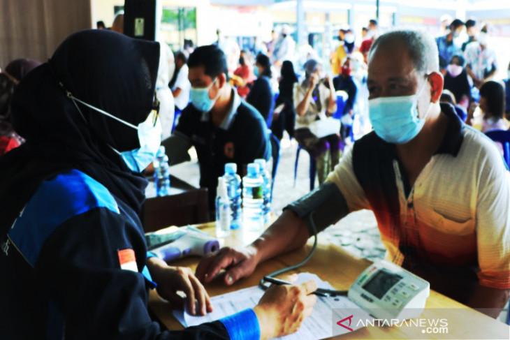 Gerai Vaksinasi Presisi Polresta Banjarmasin targetkan 250 jiwa di vaksin