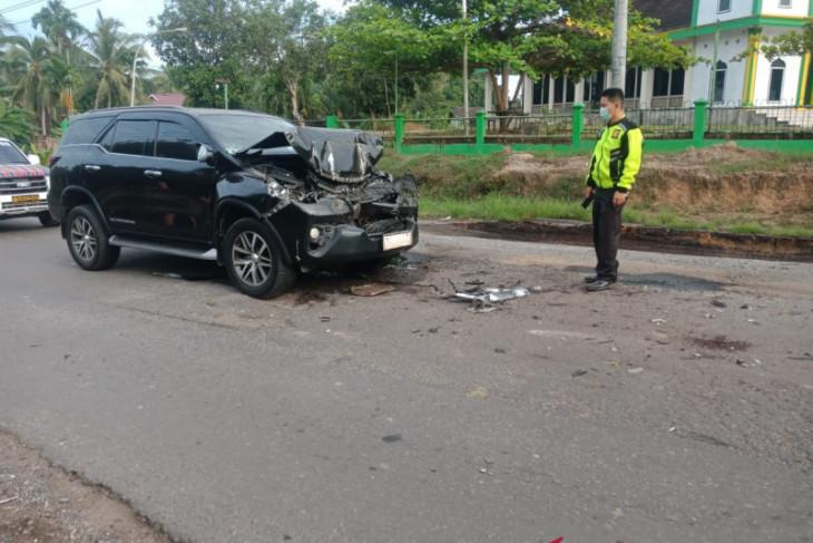 Bupati Merangin mengalami kecelakaan lalu-lintas di Batanghari