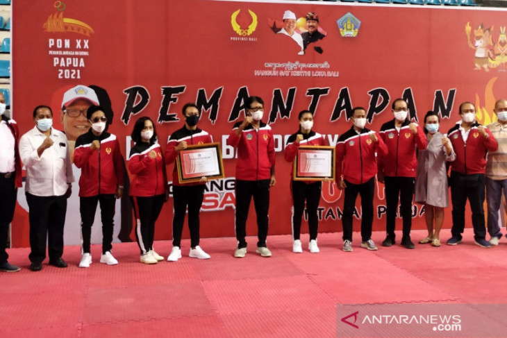 PON Papua - Kontingen Bali targetkan 30 medali emas pada PON Papua