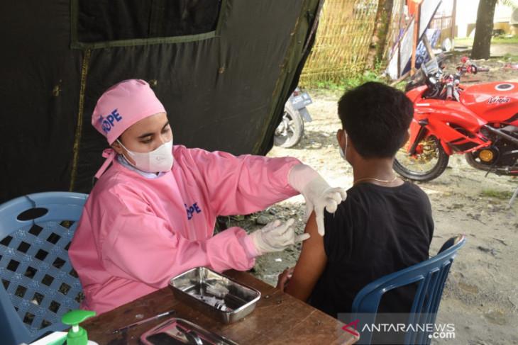 Capaian vaksinasi di Maluku baru 2216 persen dorong kesadaran warga