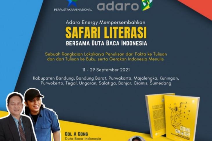 Safari Literasi, Menggelorakan Gerakan Indonesia Menulis