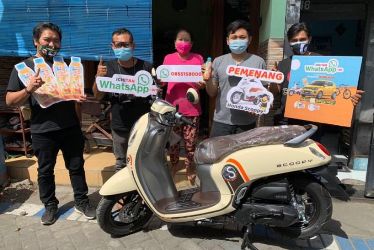 Masyarakat rasakan bagi-bagi hadiah program wa Ichitan