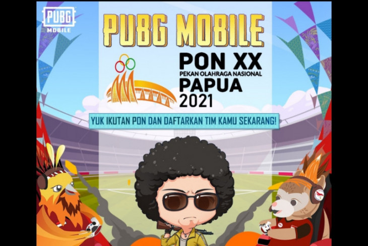 Papua PON exhibition final features 16 PUBG Mobile esports teams