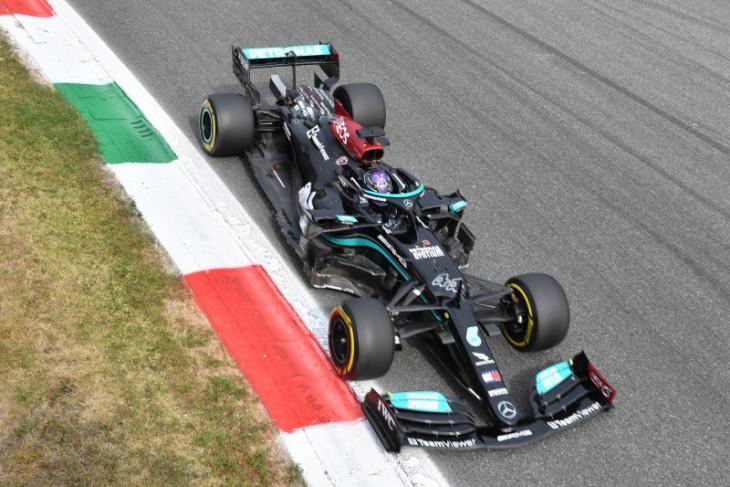 Formula 1: Hamilton lebih cepat dari Verstappen di FP1 GP Italia