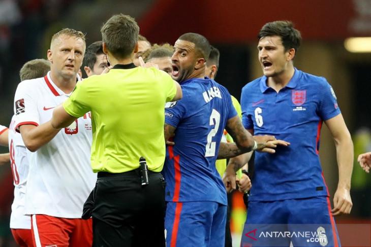 Polandia sebut cekcok ketika lawan Inggris bukan karena isu rasial