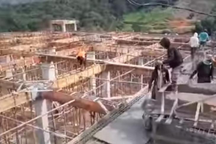 Ini progres pembangunan Pesantren Banu Ibrahim Abdya