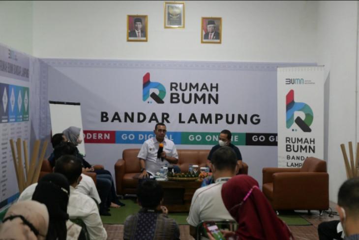 Kementerian BUMN dorong UMKM di Lampung naik kelas lewat PaDi