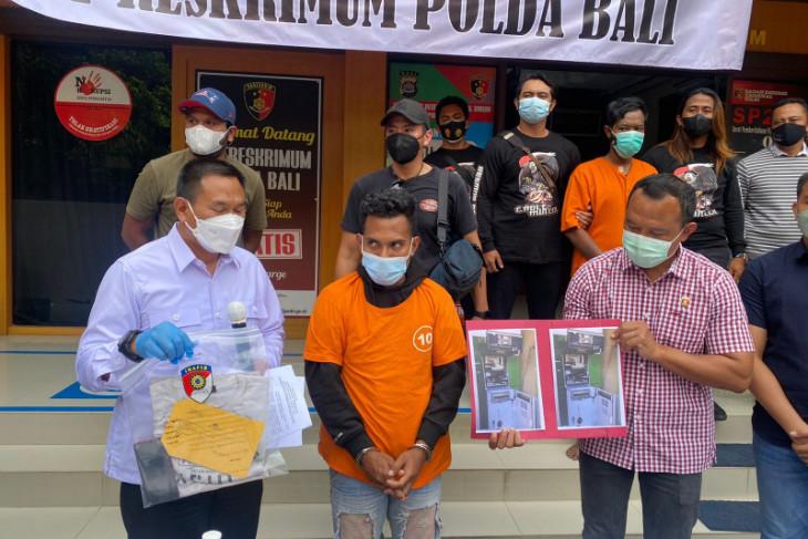 Pembobolan ATM lintas provinsi diringkus di Bali