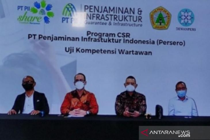 Melalui kegiatan UKW, PT PII dukung iklim jurnalisme profesional