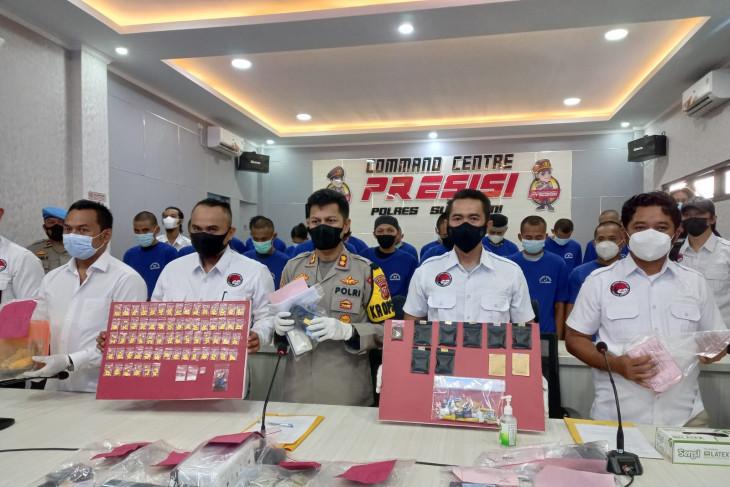 Polres Sukabumi tangkap oknum ASN Sukabumi pengguna sabu-sabu