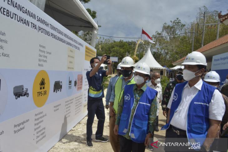 Menko Luhut resmikan TPST terbesar di Bali