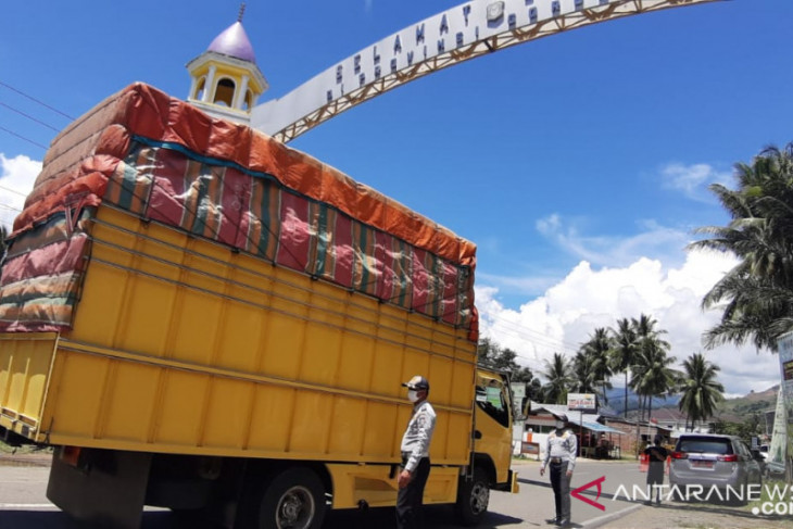 Dishub Gorontalo gelar vaksinasi bagi pelaku perjalanan darat