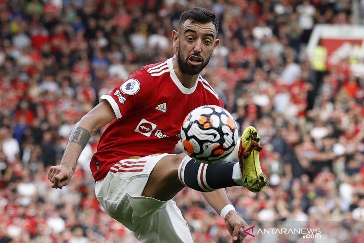 Bruno Fernandes dan MU bahas perpanjangan kontrak