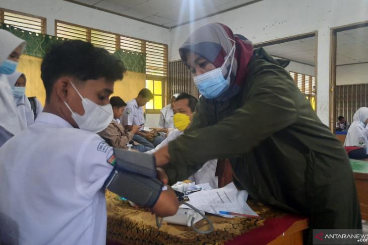 Vaksinasi pelajar di Aceh Tengah baru 5 persen