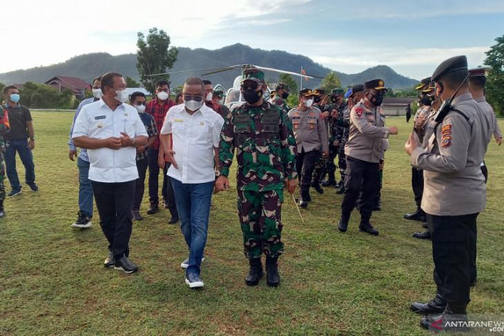 Bupati Bakhtiar sambut kunjungan kerja Kapoldasu dan Pangdam l/BB