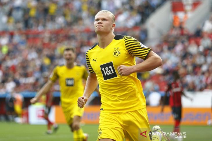 Liga Jerman: Haaland bawa Dortmund menang atas Leverkusen