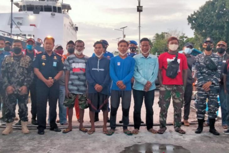 Lima ABK KM Hentri yang selamat dievakuasi ke Tual Maluku begini penjelasannya