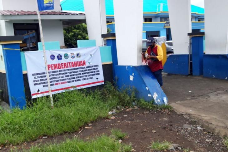 Penumpang kapal laut di Malut diwajibkan miliki surat vaksin perangi COVID -19