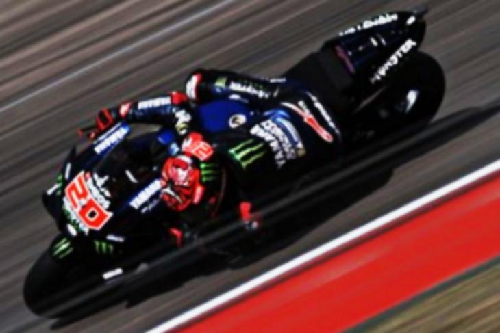 Fabio  Quartararo tercepat di latihan jelang kualifikasi GP Aragon