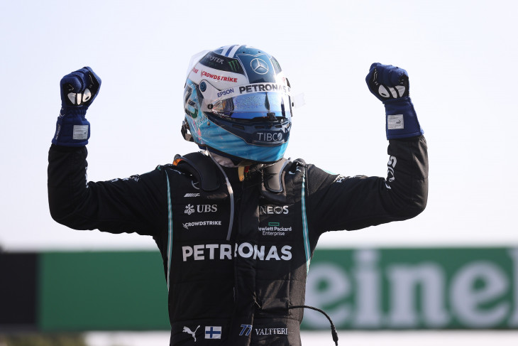 Formula 1, Bottas dominan juarai sprint race di Monza, Verstappen perlebar jarak