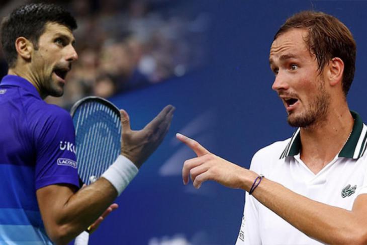 Djokovic bertemu Medvedev di final US Open 2021